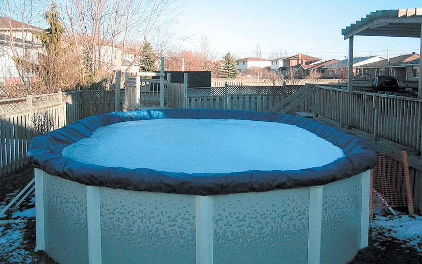 Плавающие покрывала для бассейнов