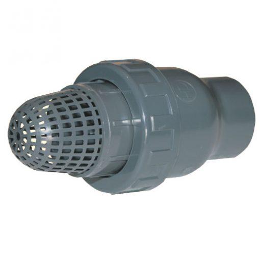 Обратный клапан с фильтром грубой очистки