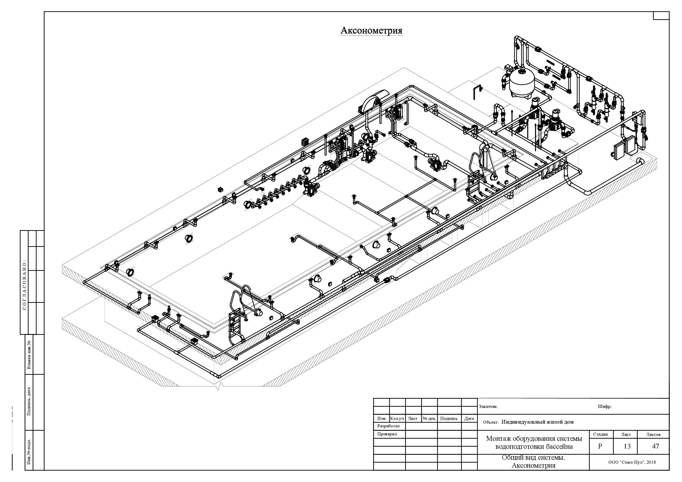 Инженерное проектирование бассейнов