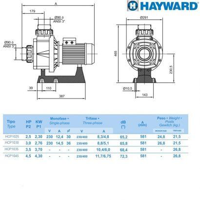насос hayward